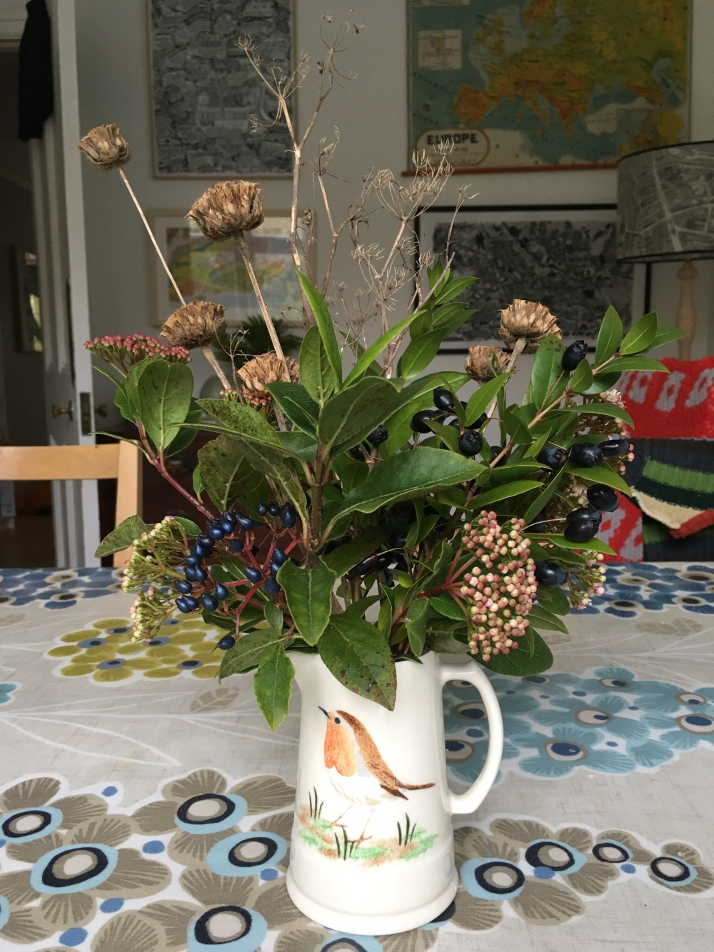 December vase